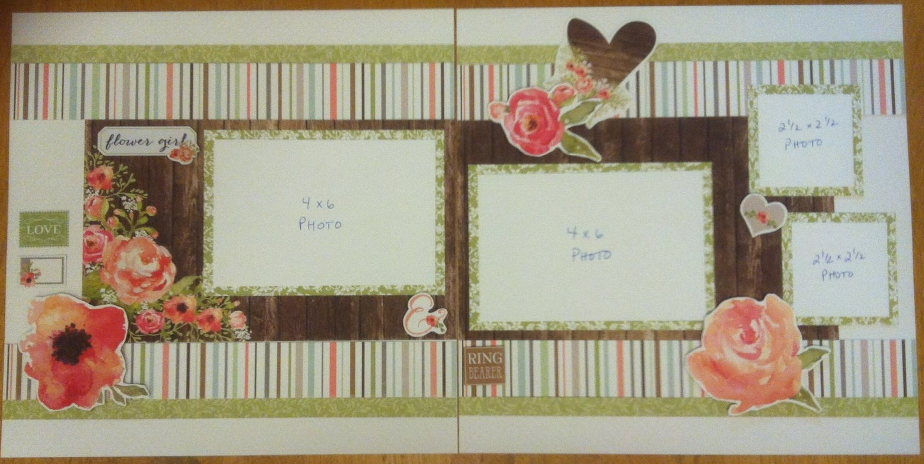 How to make a romantic scrapbook - 1 2 3